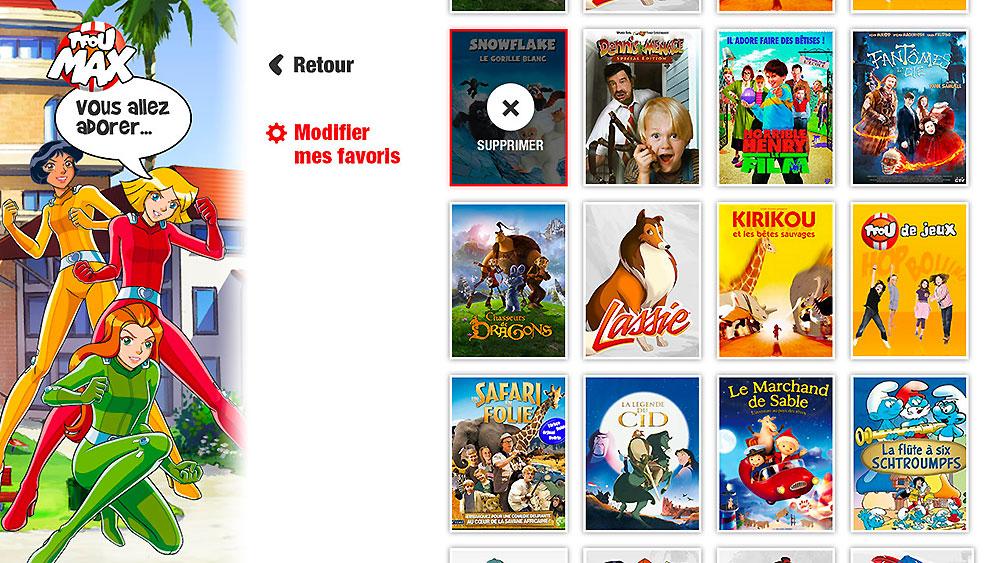 TFOU Max, produits digitaux