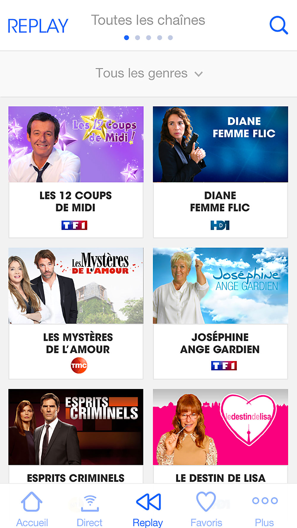 MyTF1, application mobile