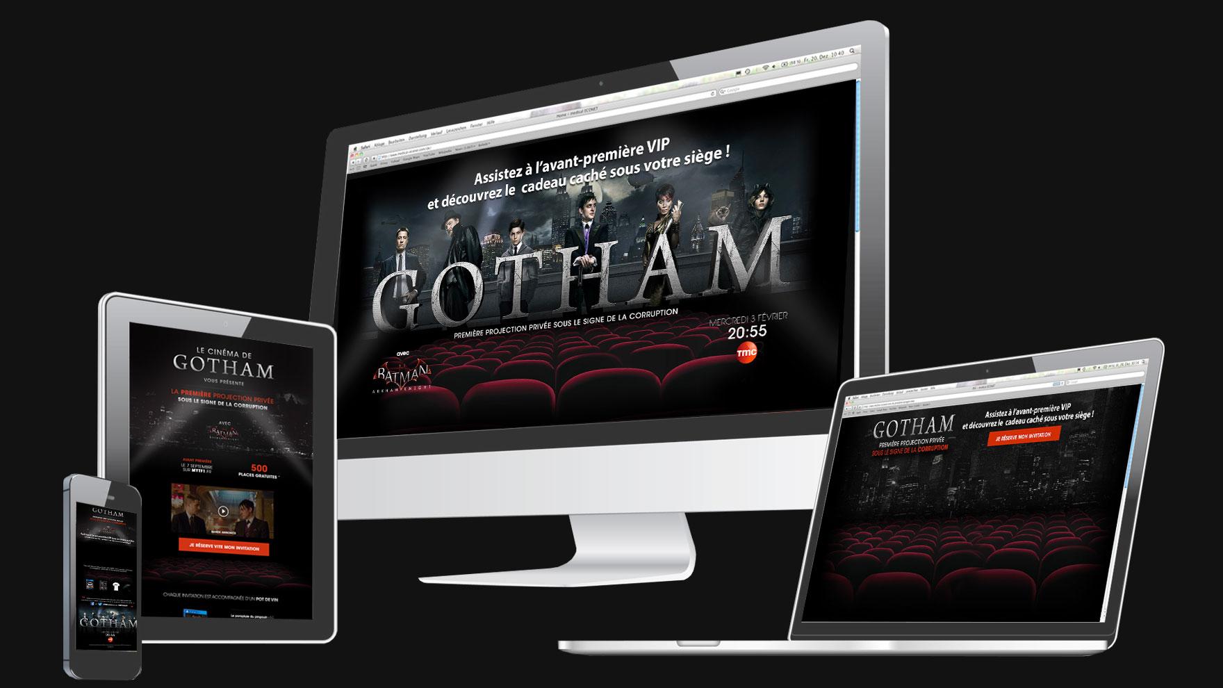 Gotham sur MyTF1