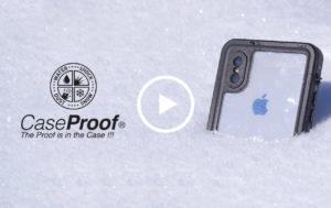 Vidéo Caseproof, coques de smartphone pour la montagne
