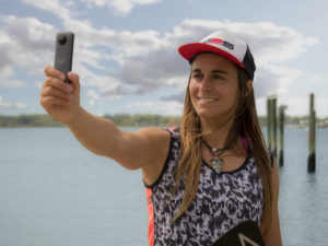 Vidéo Ricoh Theta V 360° Olivia Piana Stand up paddle