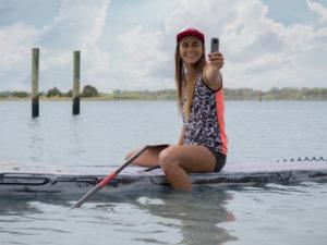 Vidéo Ricoh Theta V 360° Olivia Piana Stand up paddle