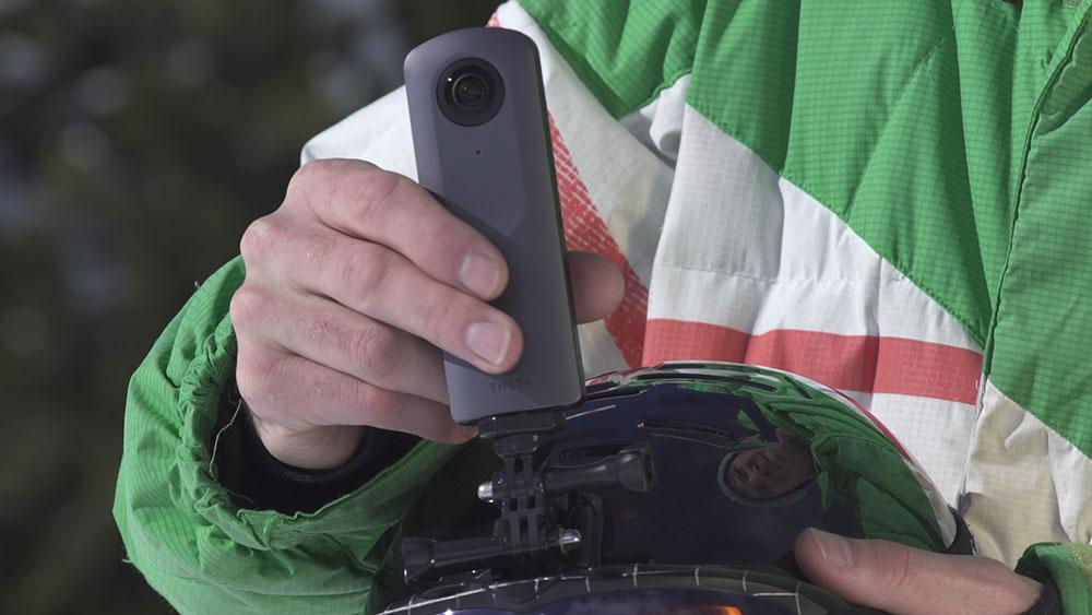 Caméra 360° Ricoh Theta V