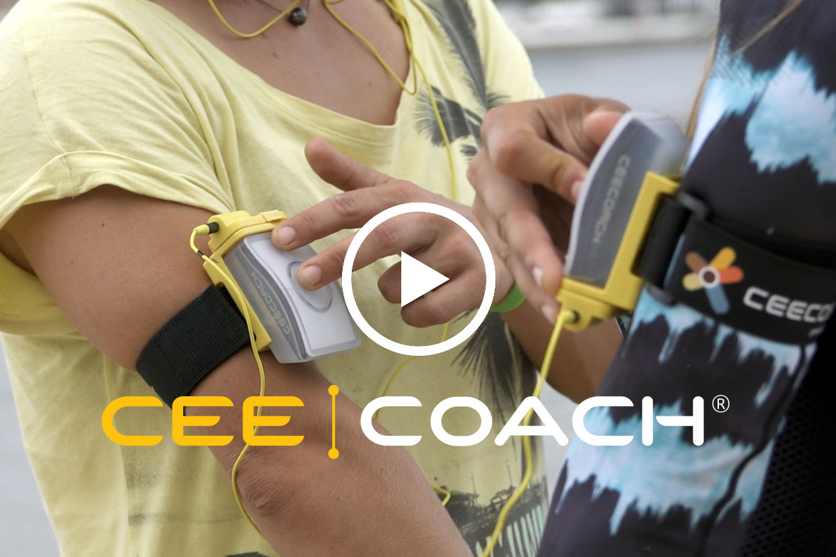 CeeCoach, système de communication étanche