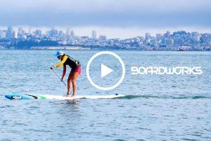 Vidéo Olivia Piana Rogue Sup Boardworks au Portugal