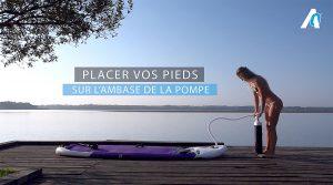 Vidéo tuto, gonfler son stand up paddle par Anoym Sup Zodiac