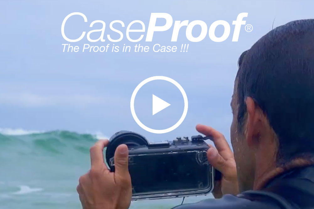 Vidéo Caseproof, coques de smartphone étanches