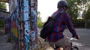 Vidéo Extremotion Communication, vélo urbain