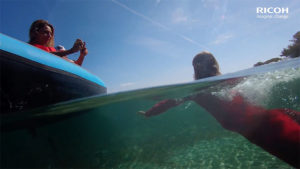 Vidéo Ricoh WG Serie en mode aquatique