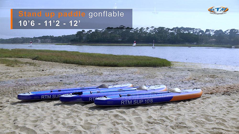 Vidéo Sup gonflables RTM Kayak