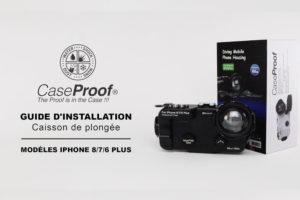 Vidéo Tuto caisson étanche iPhone Caseproof