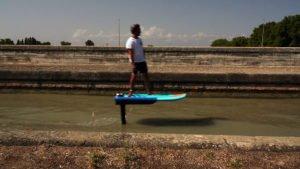 Vidéo PWR Foil électrique Canal du Midi
