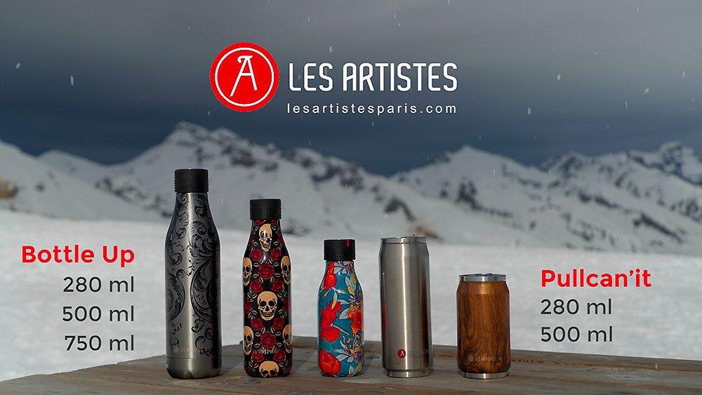 video-les-artistes-paris-bouteilles-hydratation-inox