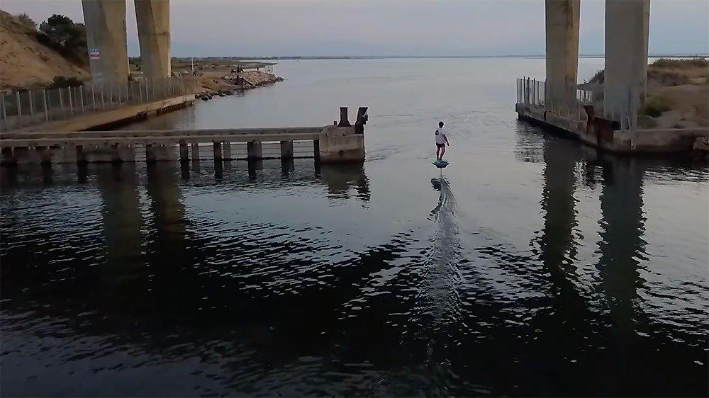 Vidéo Pwr-Foil efoil électrique français