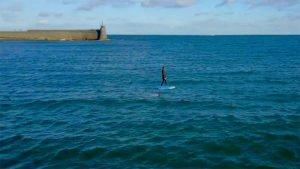 Vidéo Pwr-Foil, l'efoil électrique à Collioure