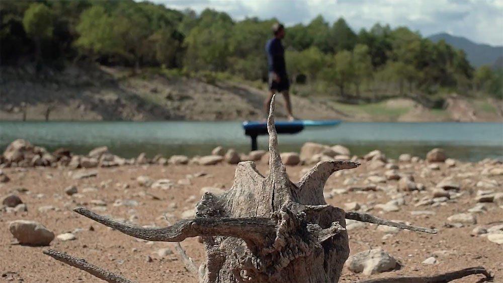 Vidéo Pwr-Foil électrique, Lac de montagne
